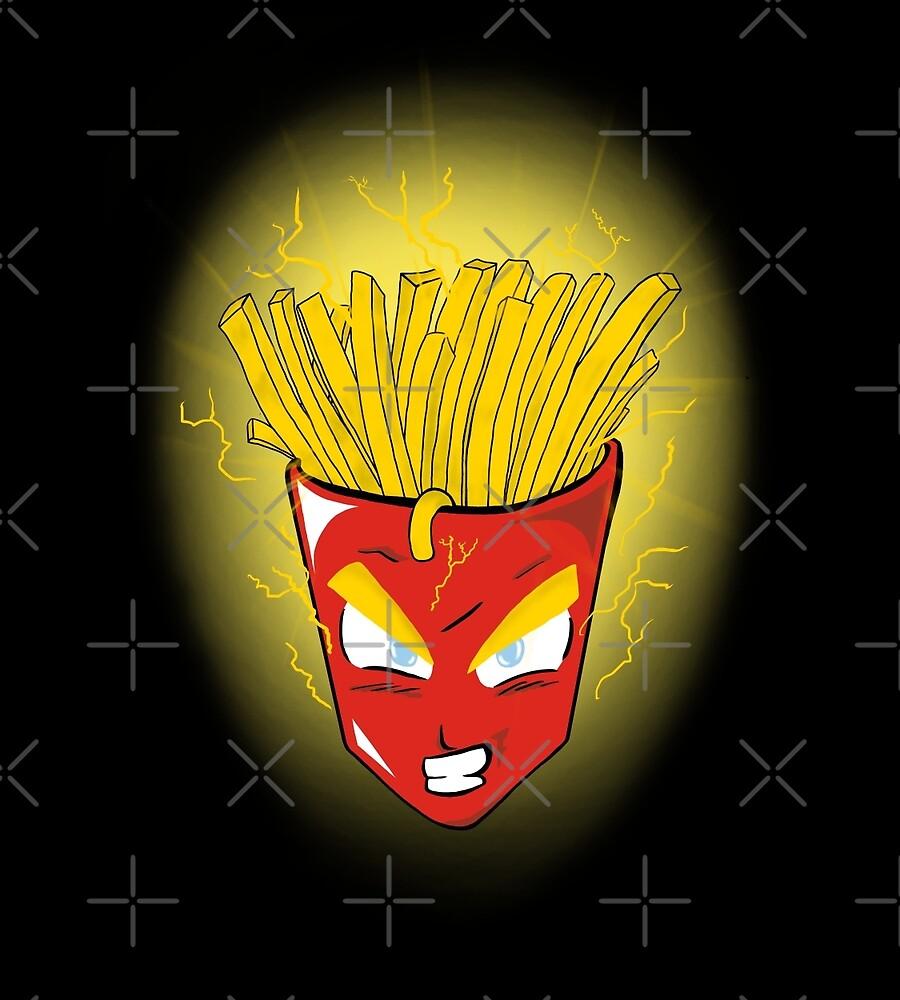 Saiyan s fries by RenF