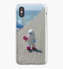 Yeti - Strolling on the Boardwalk iPhone Case/Skin