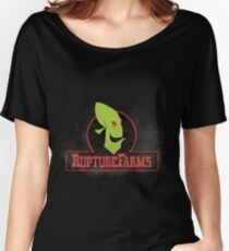 Rupture farms logo Women's Relaxed Fit T-Shirt