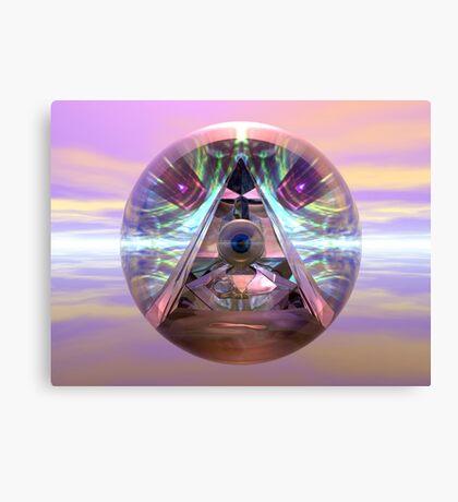 Illuminati ICU Canvas Print