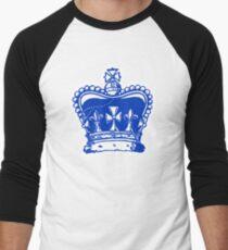Crown Jewels White Outline Men's Baseball ¾ T-Shirt