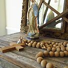 Shabby Chic Rosary by SizzleandZoom