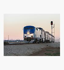 Amtrak Coast Starlight Photographic Print