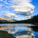 Johnson Lake Reflection by Steve Boyko