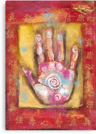 Chinese Energy Hand by Elena Ray