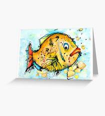 Mr Clown Fish Greeting Card