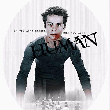 you aint human by MundaneHubris