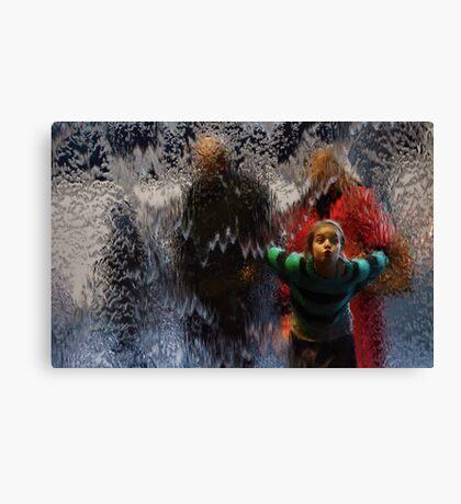 Aquatic Impressions Canvas Print