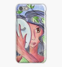 Maenad Mask iPhone Case/Skin