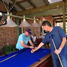 Setting up for Pool  by brendanscully