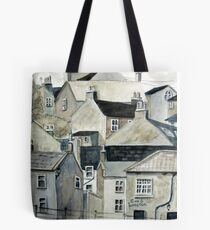 The Sea Front, Staithes Tote Bag