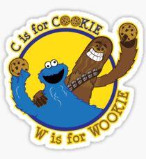 Cookie & Wookie Sticker