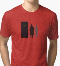 Sherlock Holmes and Dr. Watson Tri-blend T-Shirt