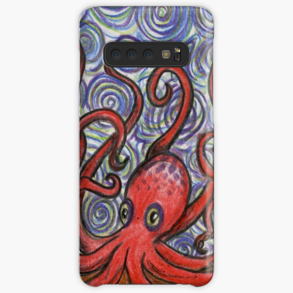 Octopus and Swirls Cases & Skins for Samsung Galaxy