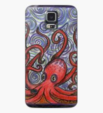 Octopus and Swirls Case/Skin for Samsung Galaxy