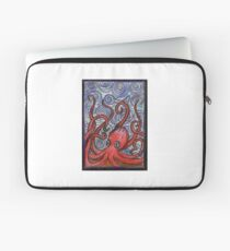 Octopus and Swirls Laptop Sleeve