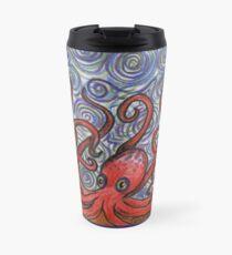 Octopus and Swirls Travel Mug