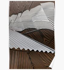 Corrugations Poster