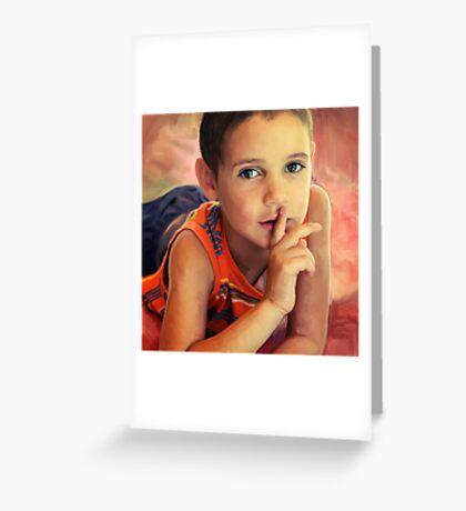 Hush Greeting Card