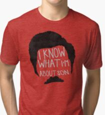 I know what im about son Tri-blend T-Shirt