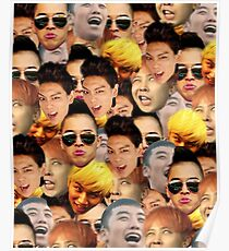 BigBang Faces Poster