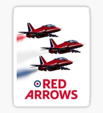 The Red Arrows reach 50 Sticker