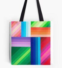 COLORED STRIPES Tote Bag