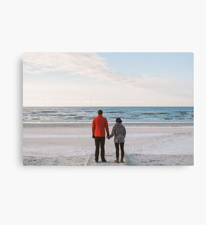 We stand together Canvas Print