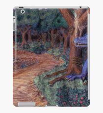 Lying In Wait - Dragon and Maiden iPad Case/Skin