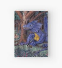 Lying In Wait - Dragon and Maiden Hardcover Journal
