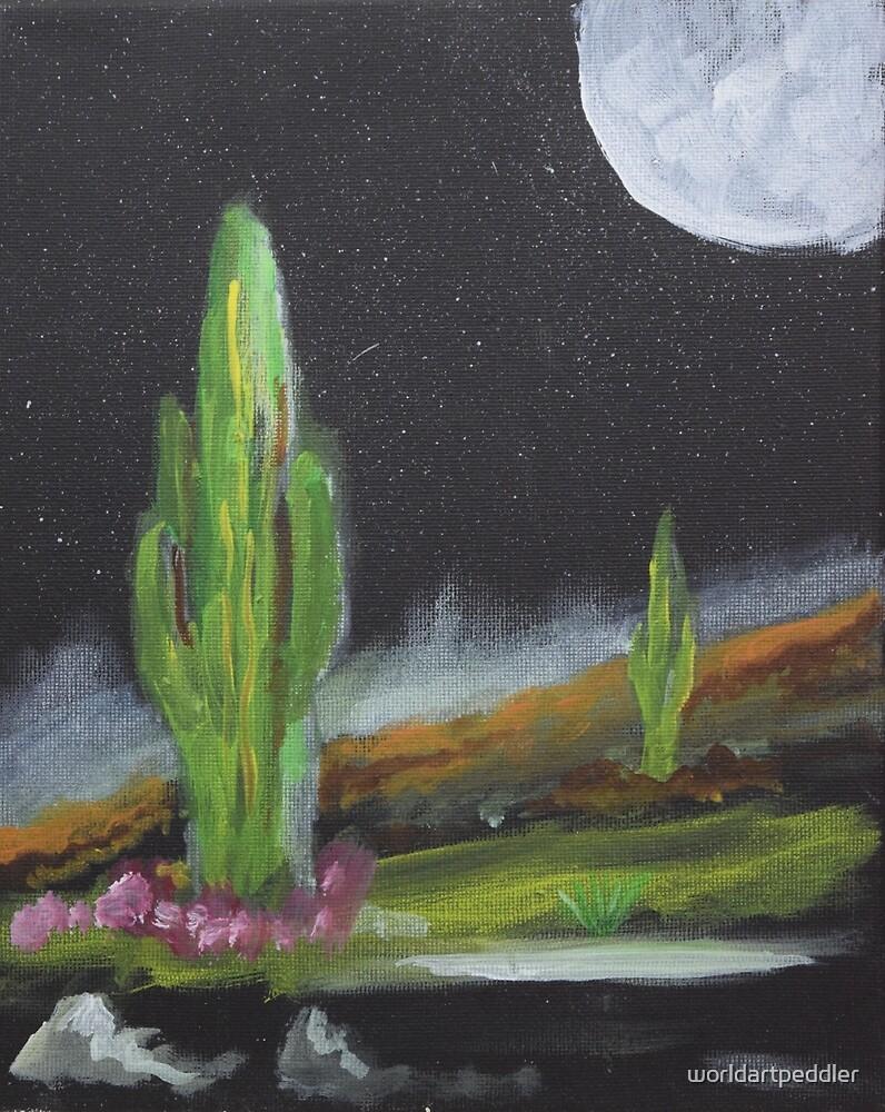 Cactus by worldartpeddler