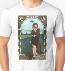 Dana Scully Art Nerdveau Unisex T-Shirt