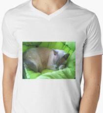 Sleeping Zoe Men's V-Neck T-Shirt