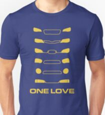 Subaru Impreza - One love Unisex T-Shirt