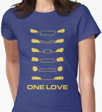Subaru Impreza - One love Women's Fitted T-Shirt