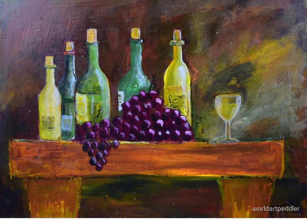 Wine Treat by worldartpeddler