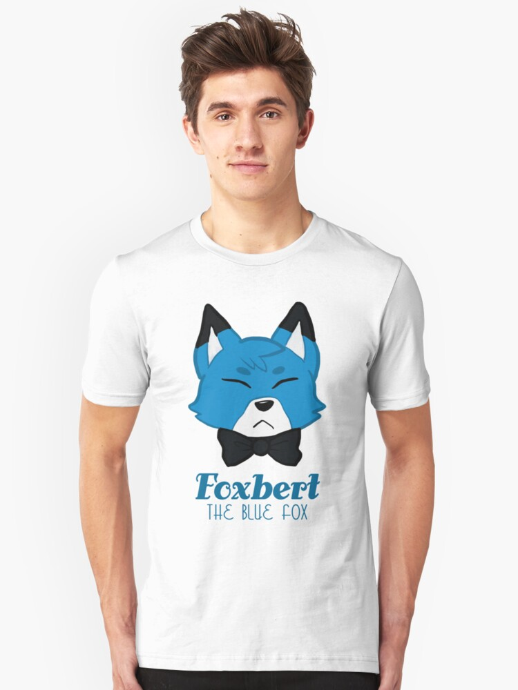 Foxbert, The Blue Fox by Diana Moon