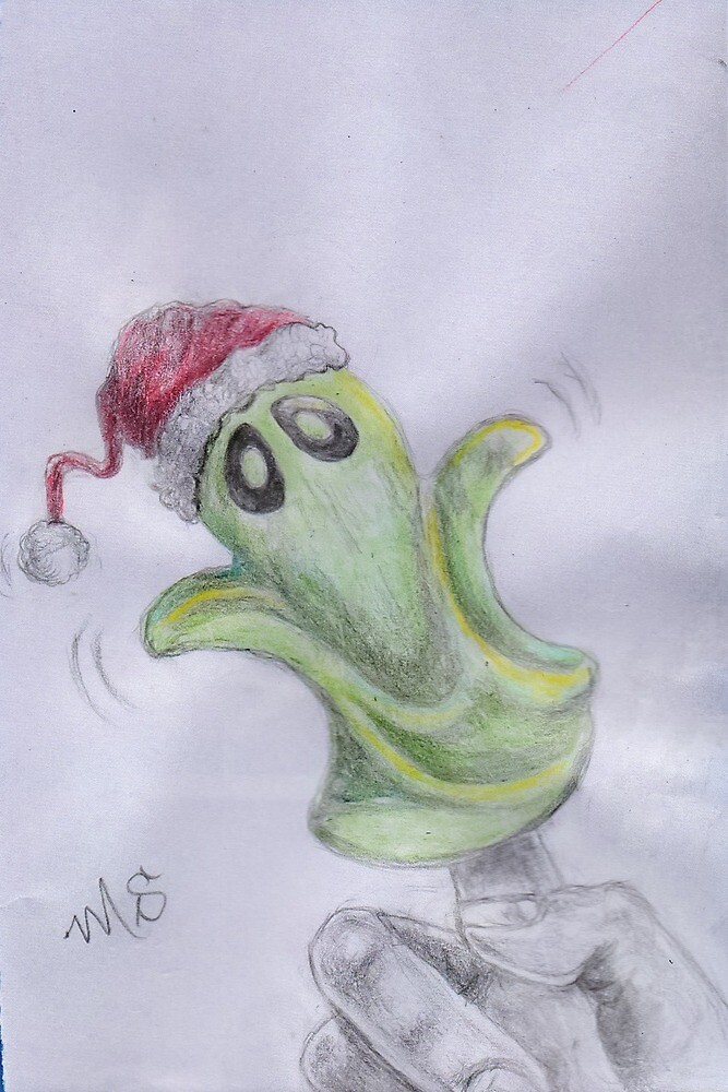 Gilroy the Ghost Christmas by PixlPixi