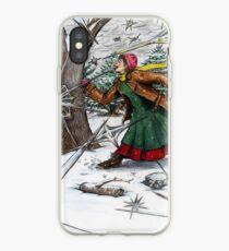 Snowflake Girl iPhone Case