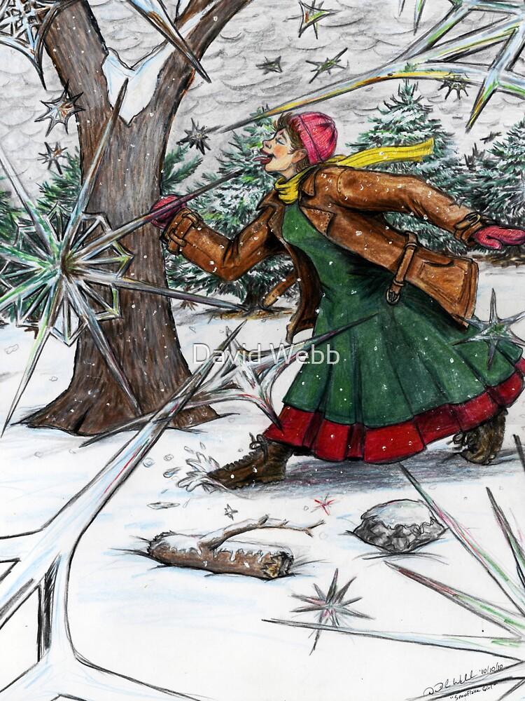 Snowflake Girl by GraphiteWeb