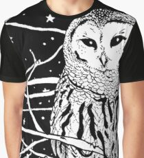 Snowy Night Graphic T-Shirt