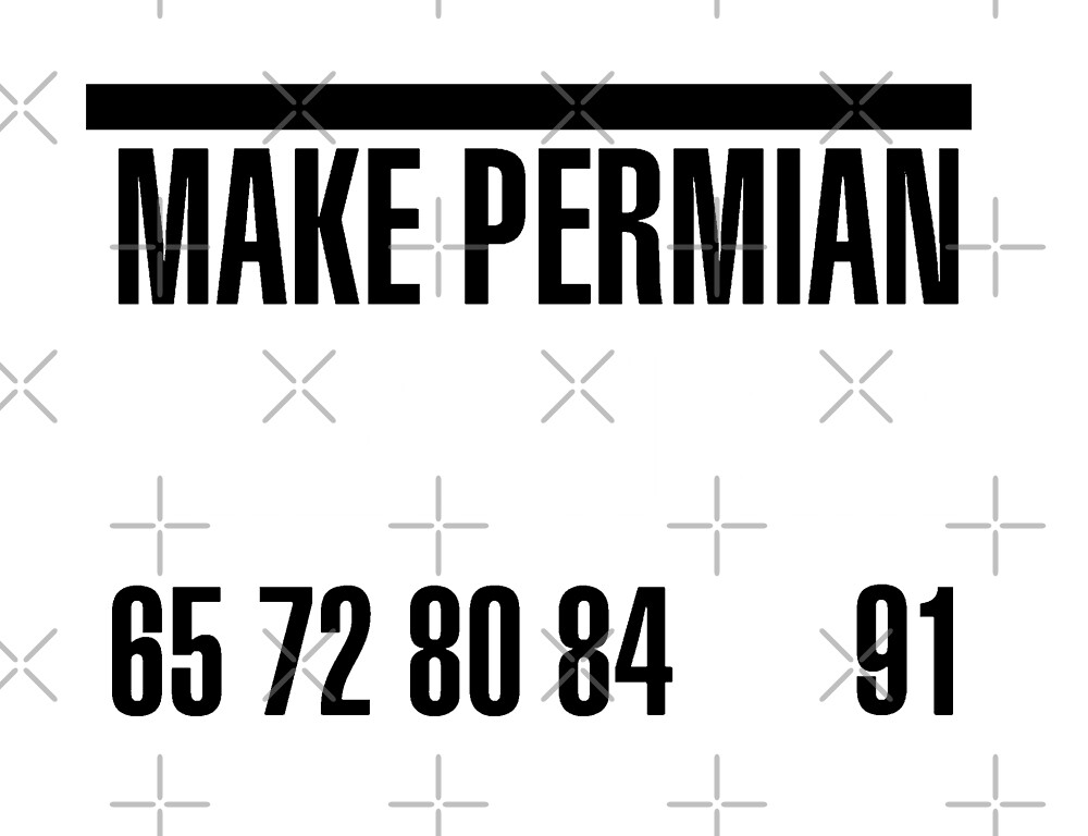 Make Permian great by sadapparel