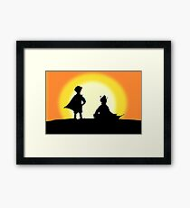 Super Best Friends Framed Print