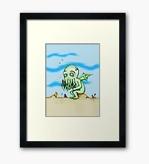 Cthulhu At Play Framed Print