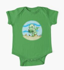 Cthulhu At Play One Piece - Short Sleeve