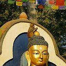 Swayambunath Morning II by Harry Oldmeadow
