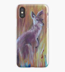 Kangaroos in Long Grass iPhone Case/Skin