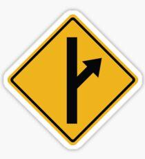 MGTOW Symbol (orange) for Men Going Their Own Way  Sticker