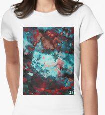 Digital Tie-Dye One Women's Fitted T-Shirt