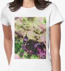 Digital Tie-Dye Two Women's Fitted T-Shirt